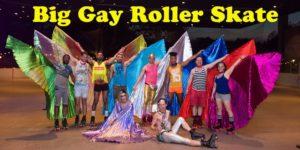 Big Gay Roller Skate