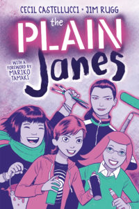Geeks Out Q&A with Cecil Castellucci and Jim Rugg of The PLAIN Janes