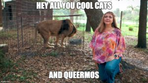 The Geeks OUT Podcast: Hey All You Cool Cats & Queermos