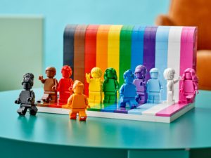 The Geeks OUT Podcast: Lego My Pride Set